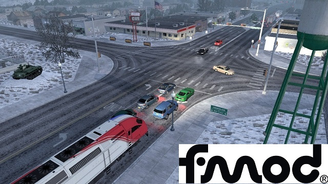 Trains Everywhere (road nightmare) in ETS2