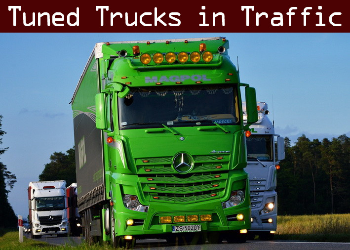 Tuned Truck Traffic Pack by TrafficManiac