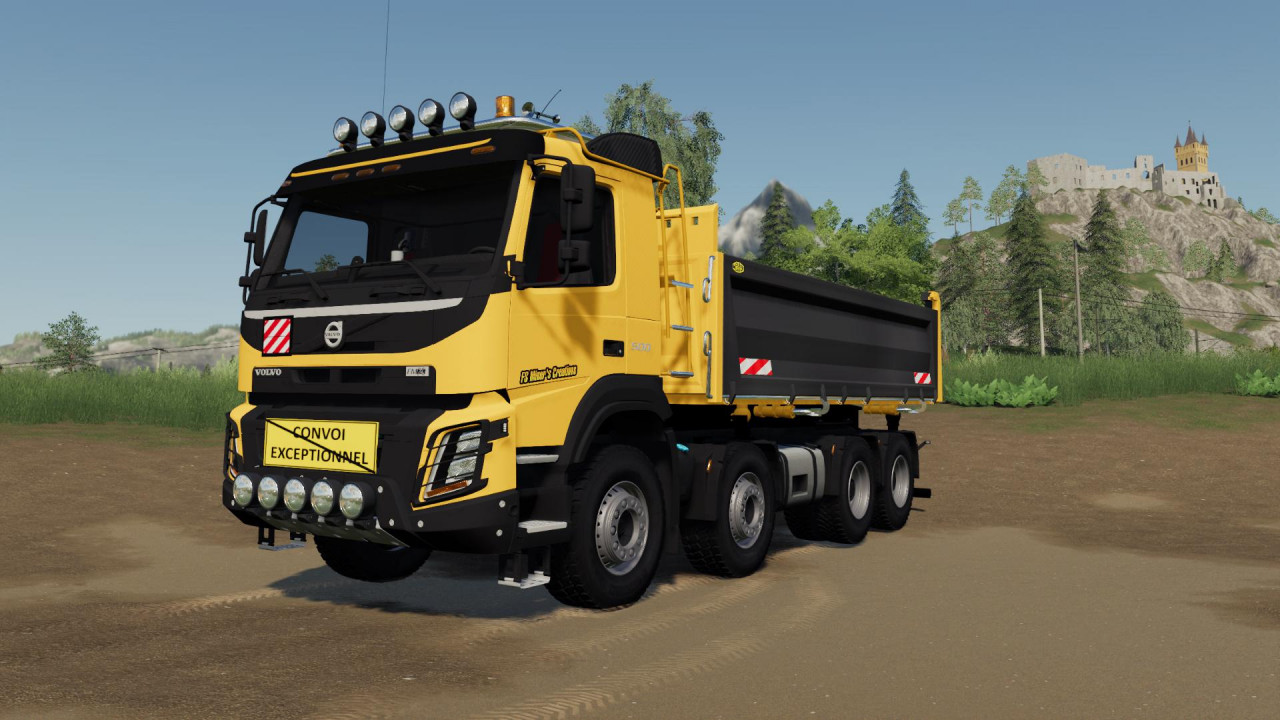 Volvo FMX 8x4 FS Miner's Construction Edition