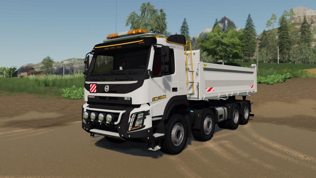 Volvo FMX 8x4 FS Miner's White Ediiton