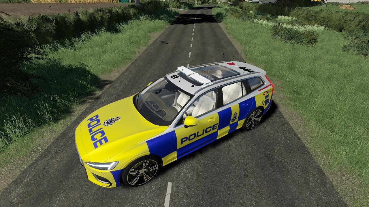 Volvo V 60 UK Police Edit