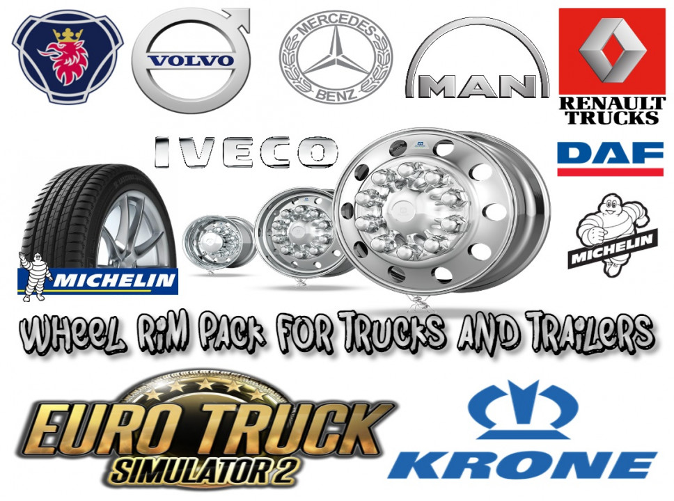 Wheel Rim Pack for trucks and Trailers 1.39