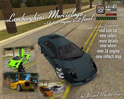 Lamborghini Murcielago V 12 6,2L