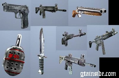 Pack Weapons S.T.A.L.K.E.R