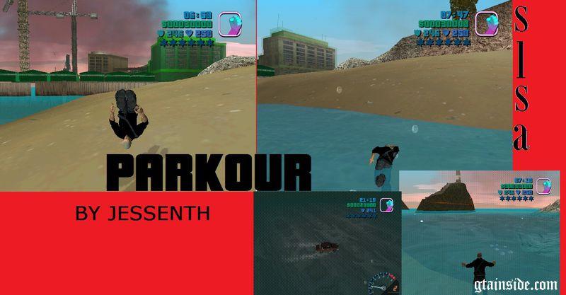 Swim Like San Andreas Mod + Parkour