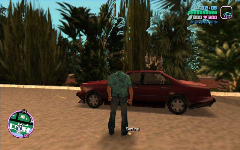 GTA Vice City: Easy Car Spawner