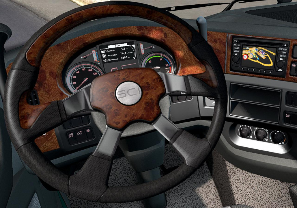 ATS Steering Creations Pack for ETS2