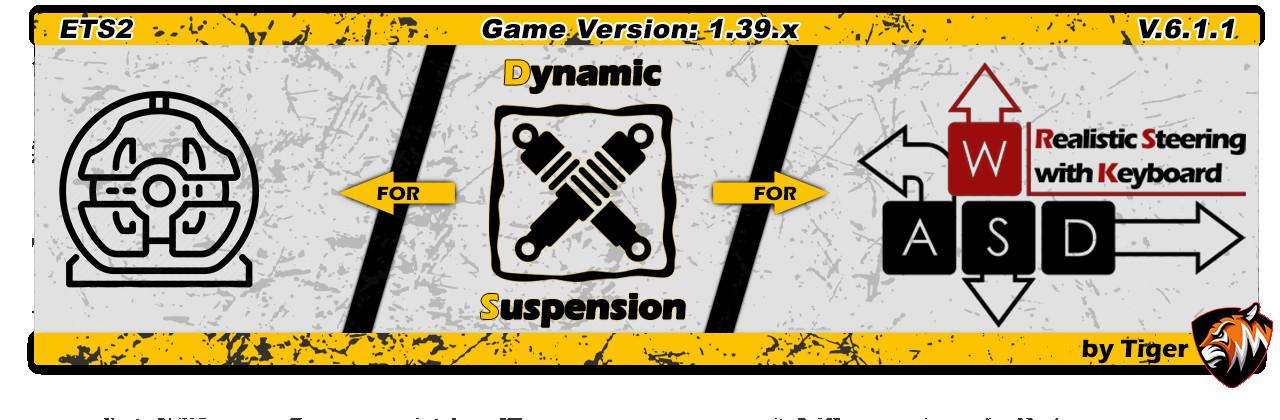 [ETS2] Dynamic Suspension V5.2.8 [1.38]