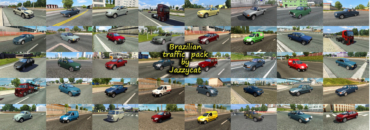 Brazilian Traffic Pack by Jazzycat