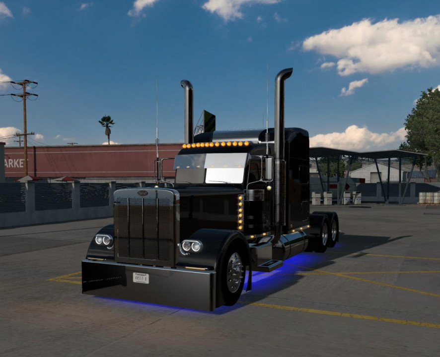 Peterbilt 389 longhood 1.39