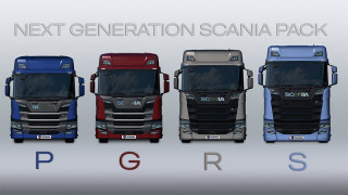 Next Generation Scania P G R S v 2.3 1.39