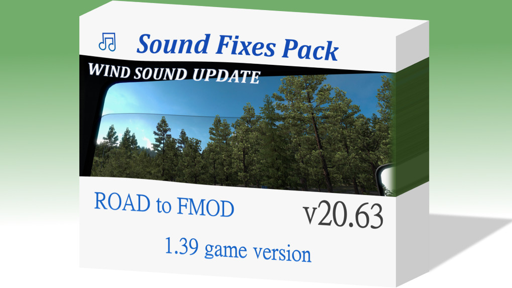 Sound Fixes Pack v20.63 ATS 1.39