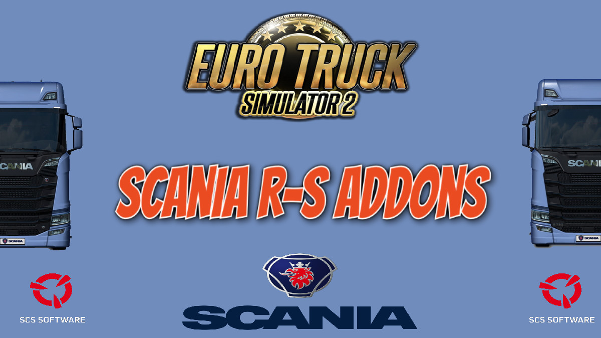 Scania R-S Addons v5.7