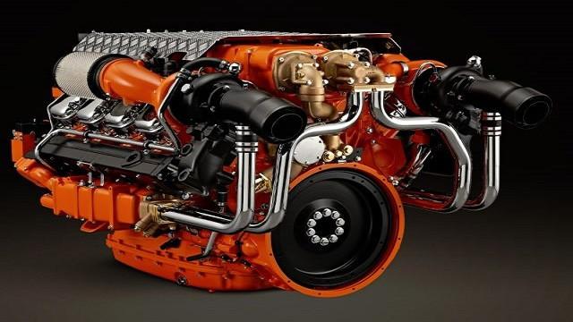 Scania V8 Openpipe