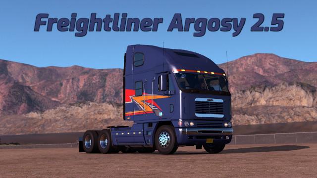 Freightliner Argosy v2.6 Fixed ATS 1.39.x