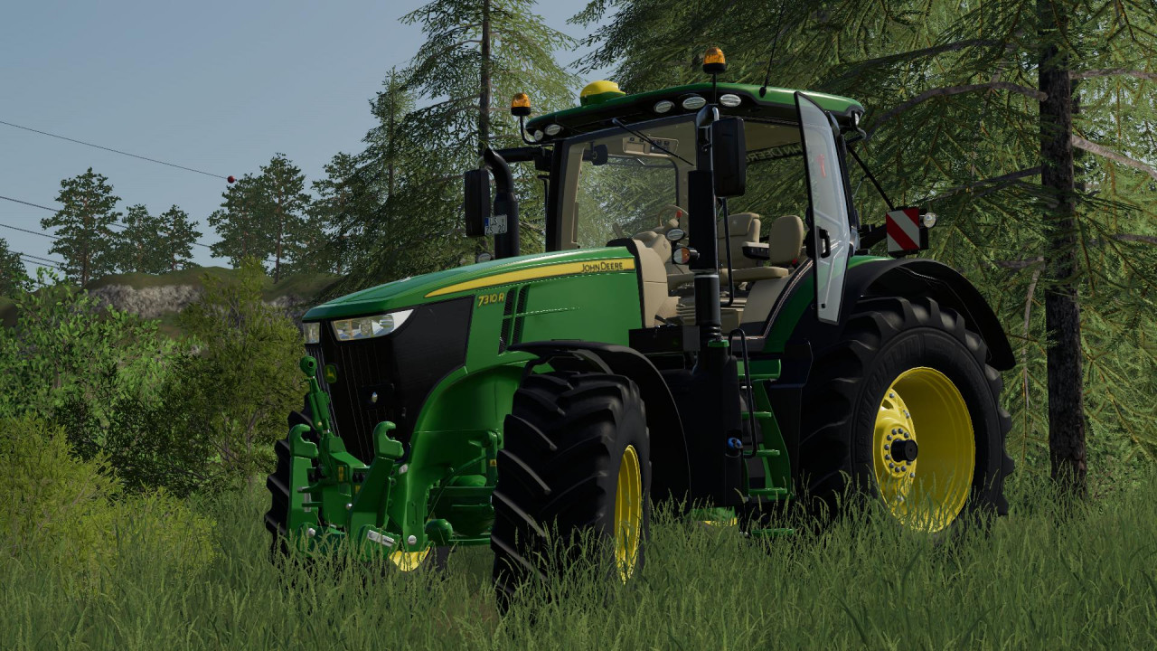John Deere 7R with SIC including sound