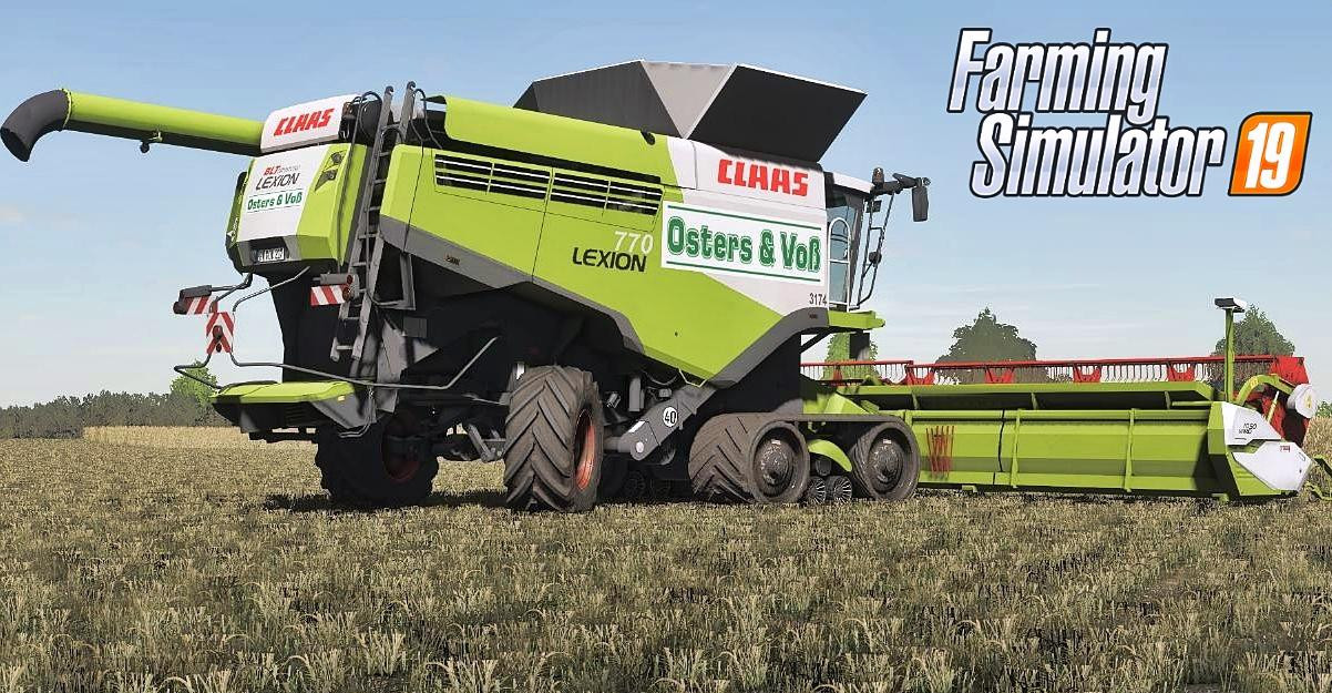 Claas Lexion Osters & Voss Edition