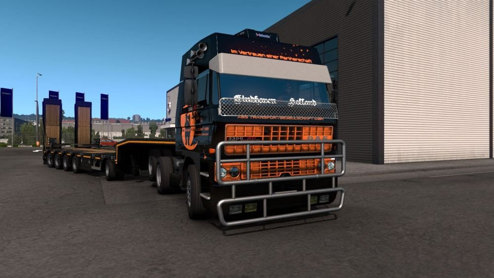 DAF F241 series by XBS
