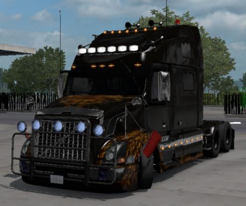 Volvo vnl custom ets2 1.39