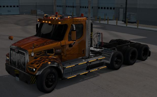Westernstar 49x cargo truck ets2 1.39