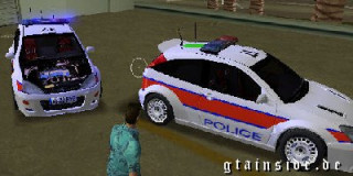 Ford Focus RS Police UK