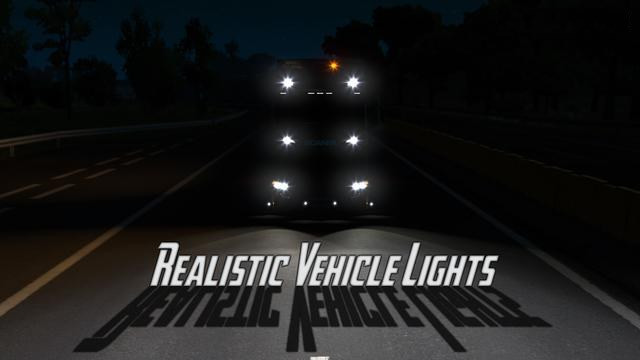 Realistic Vehicle Lights Mod v6.0 for ETS 2