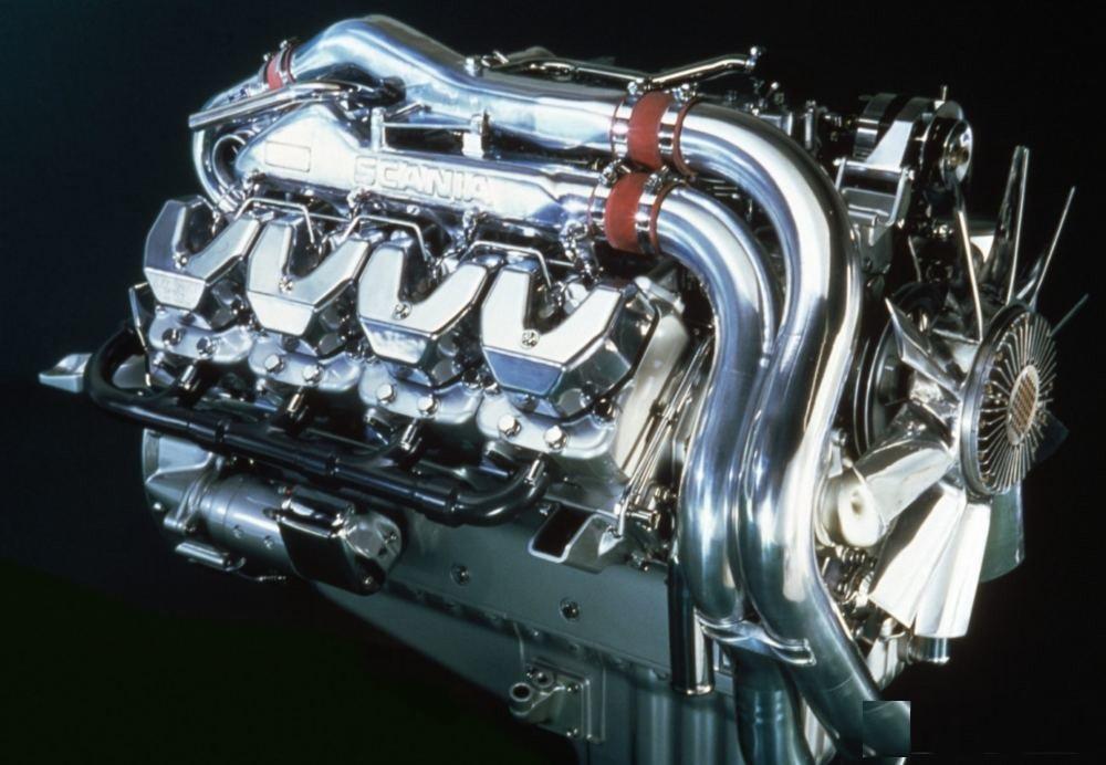 Scania V8 Openpipe V14 1.39