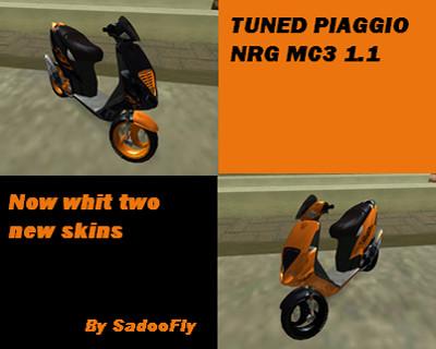 Tuned Piaggio NRG MC3