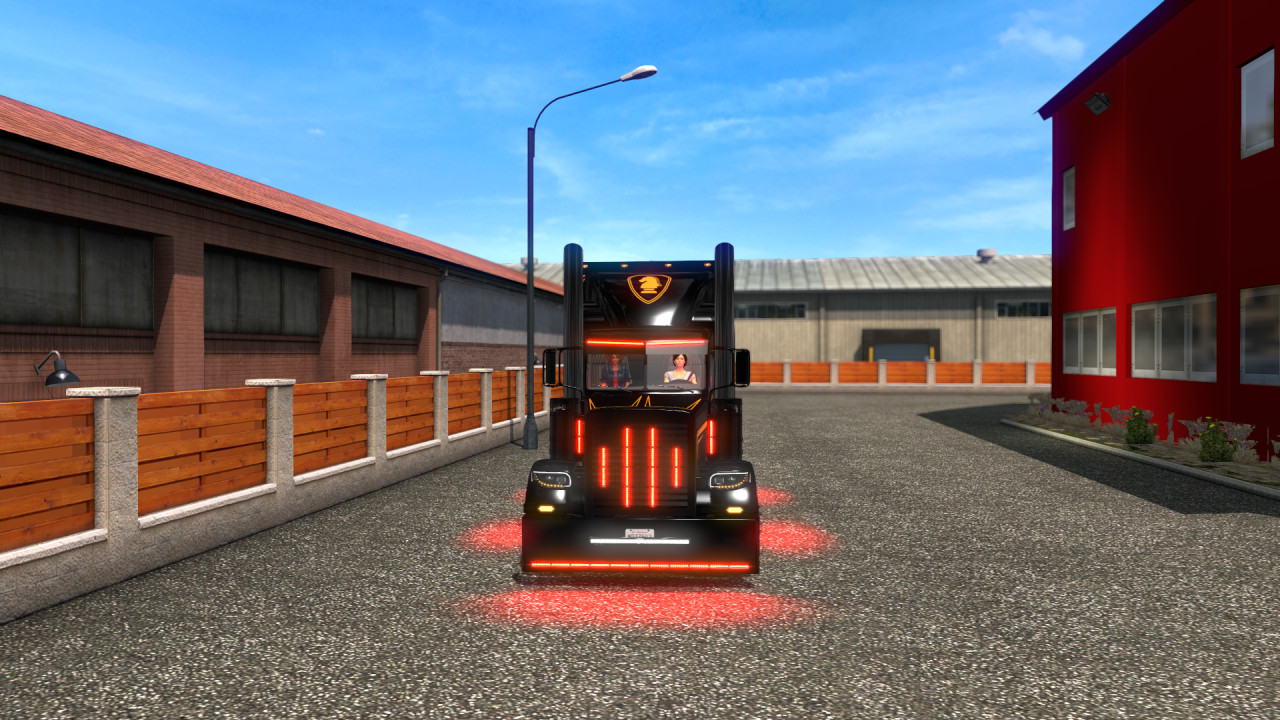 KR10K Knight Rider Engine for ATS 1.39