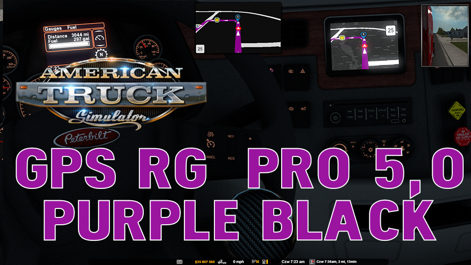 GPS RG  PRO 5,0 PURPLE BLACK