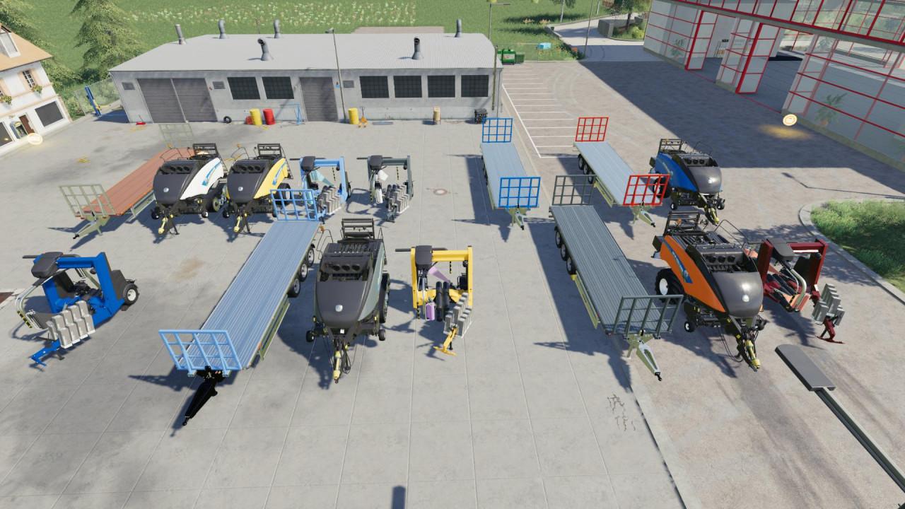 BALEROS Baling Machinery Pack