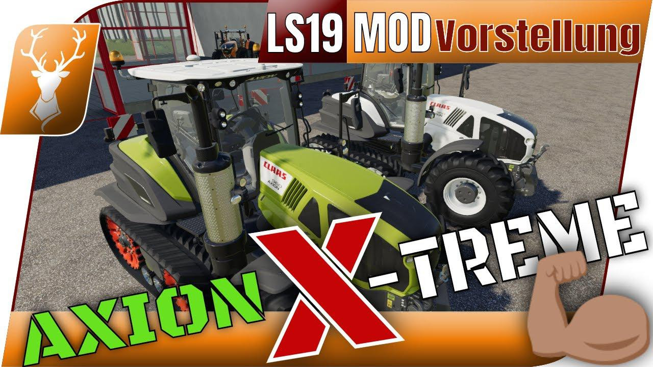 Claas AXION TT MH-Edition