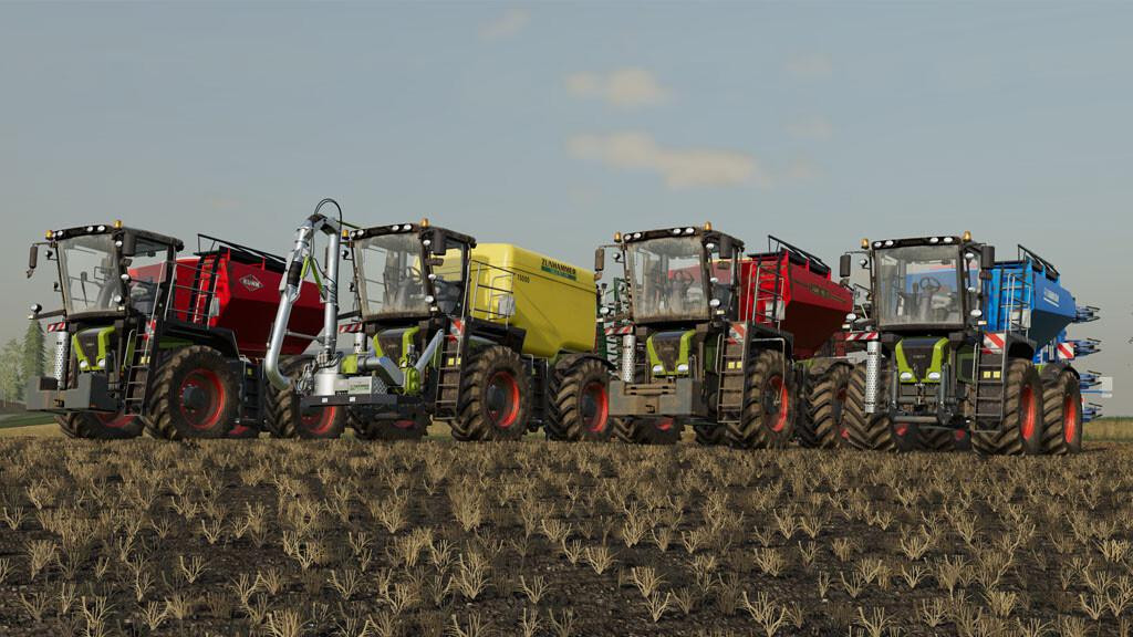 CLAAS Xerion 3000 Saddle Trac