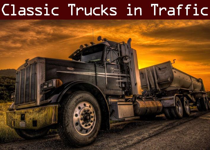 Classic Truck Traffic Pack by Trafficmaniac