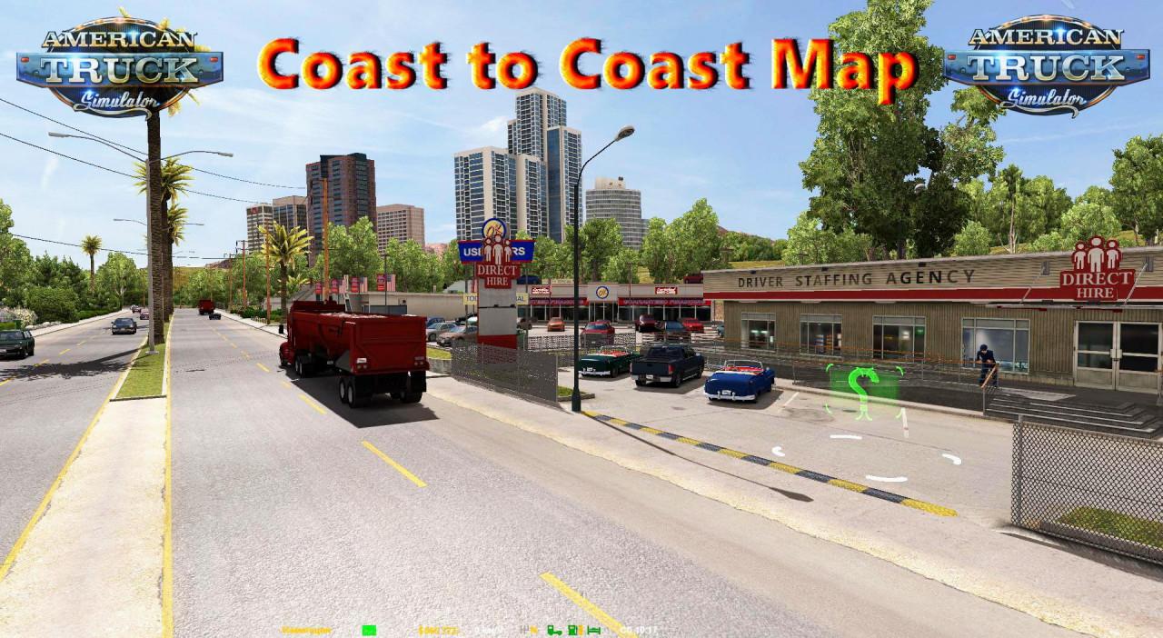 Coast to Coast Map v2.11.9 (1.39)