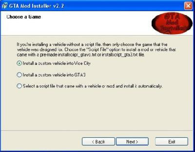 GTA 3 & GTA Vice City Mod Installer