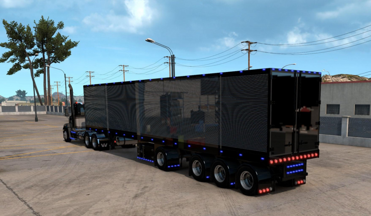 Custom 53ft ownable trailer 1.39