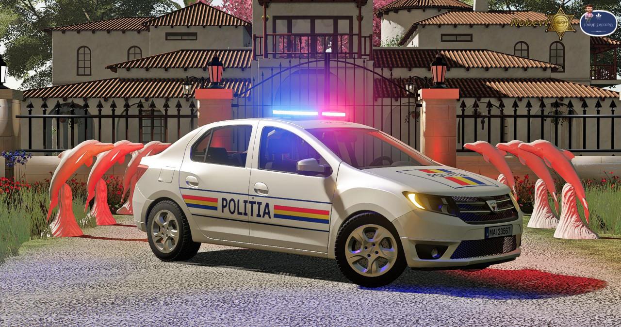 Dacia Logan Politia 2019