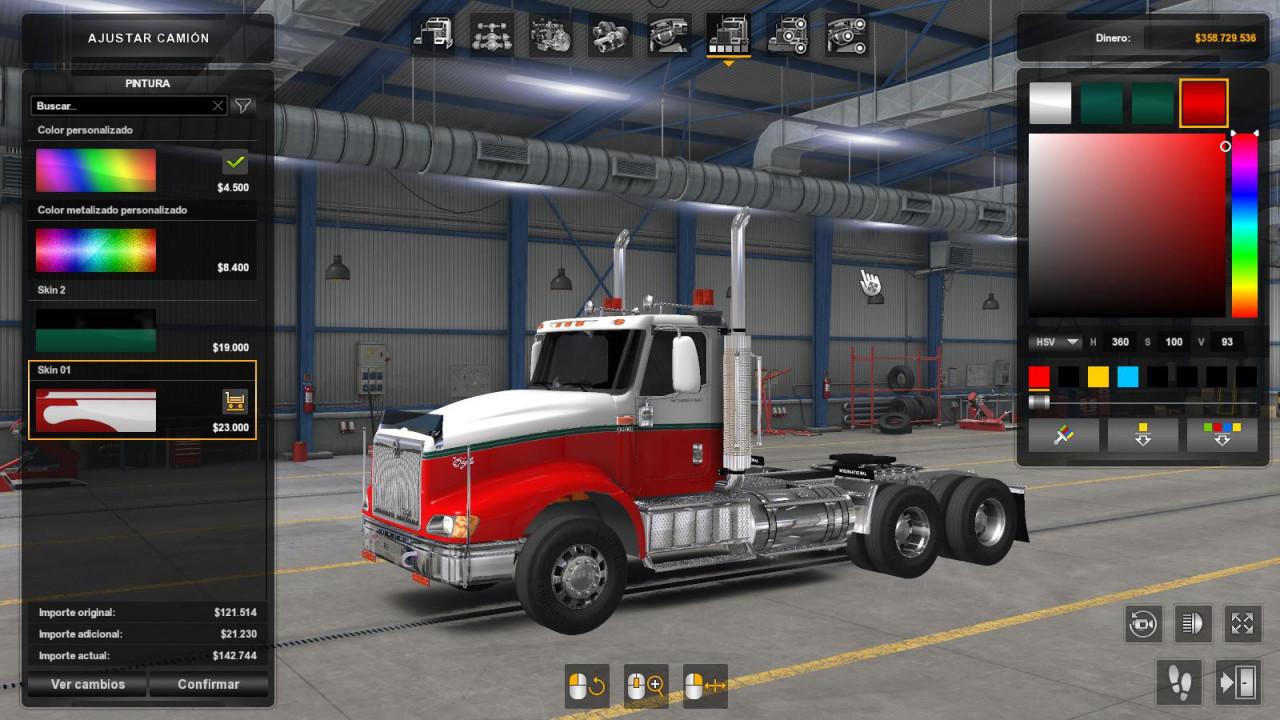 International Eagle 9400 v3.0