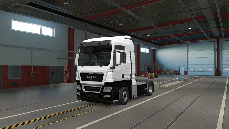 Two Tone Paint for MAN TGX