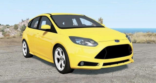 Ford Focus ST (DYB) 2013