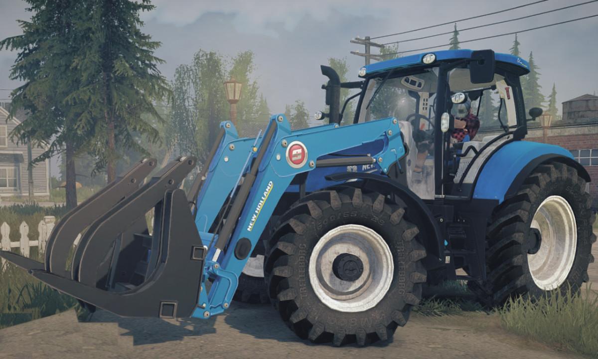 New Holland T6.175 BluePower (14.10.2020)