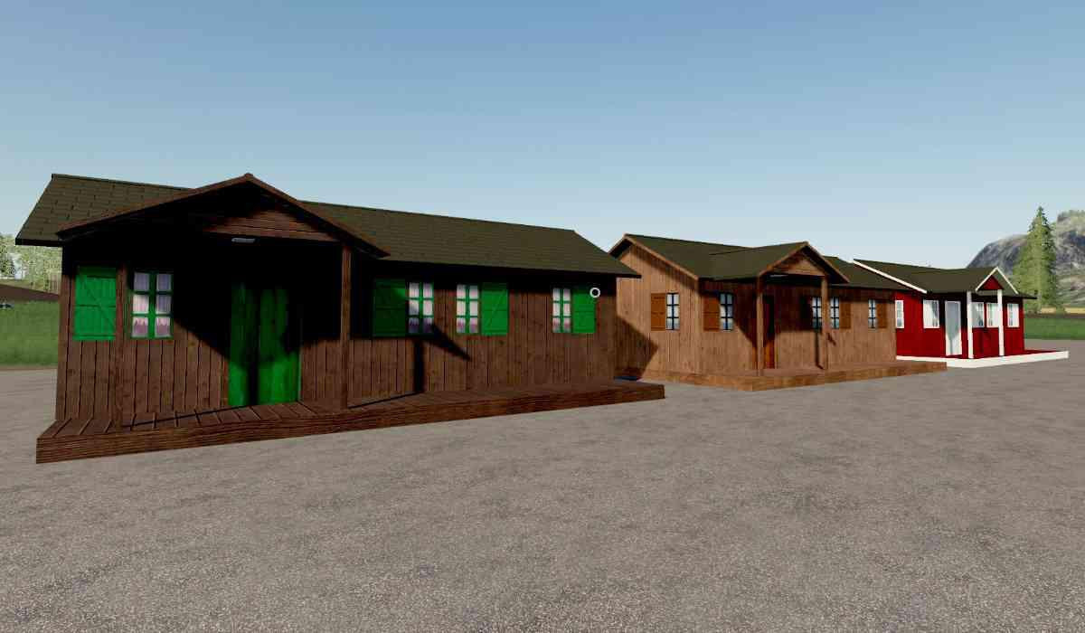 Holiday Home Wood Pack