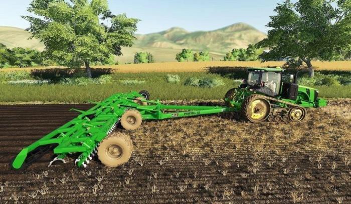 John Deere Protill 40 Plow Function