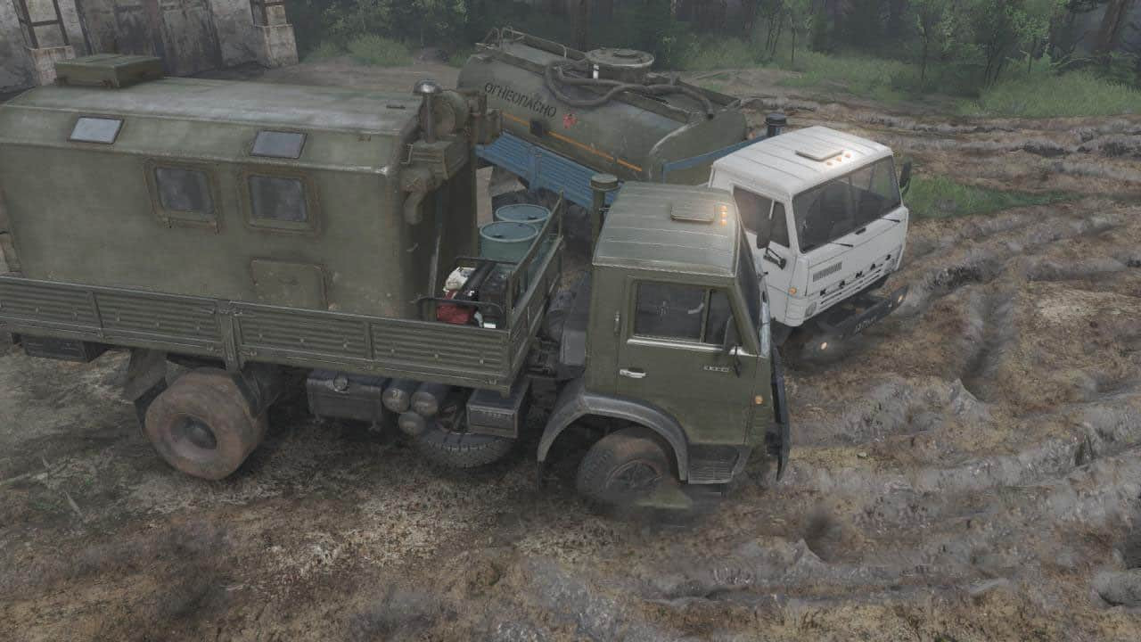 KamAZ-4325 (4×2) Truck