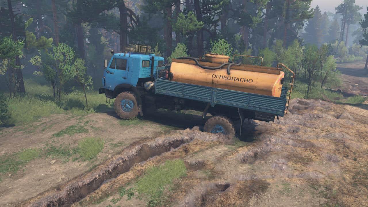 KamAZ 4326 4×4 Truck