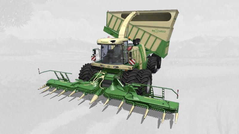 Krone BigX1180 Cargo