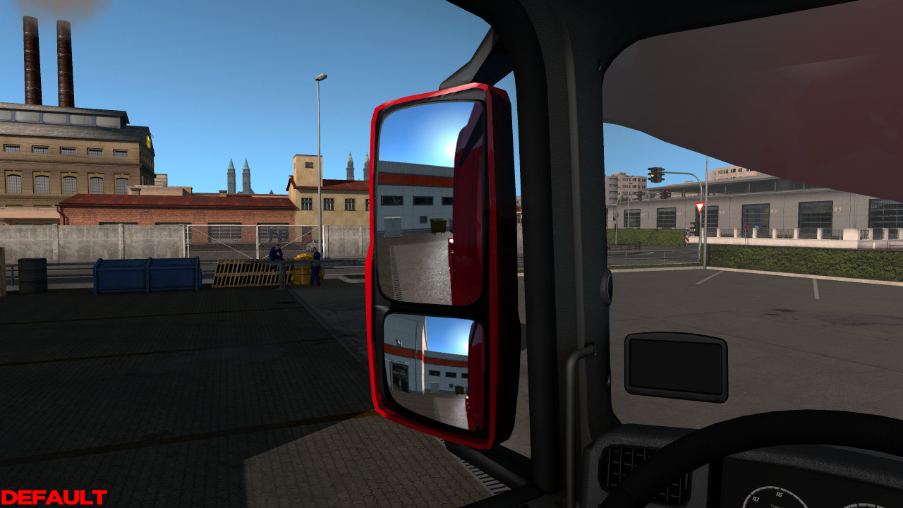 Improvements Interior Mod for ETS2 v1.1 1.39