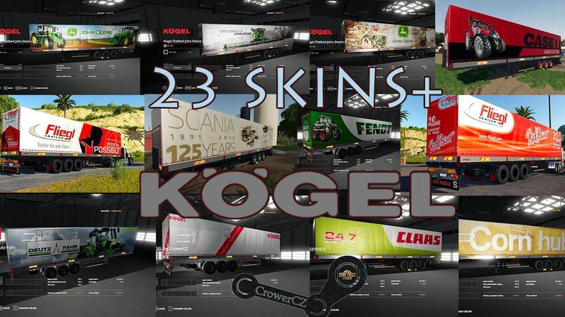 Mega Pack Kogel Autoloader Trailers