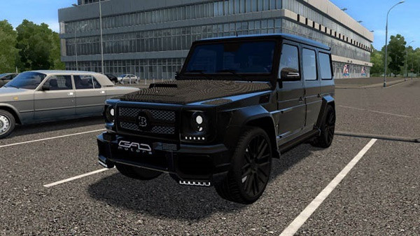 Mercedes-Benz G65 GAD Motors